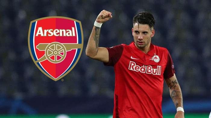 Dominik Szoboszlai Arsenal GFX