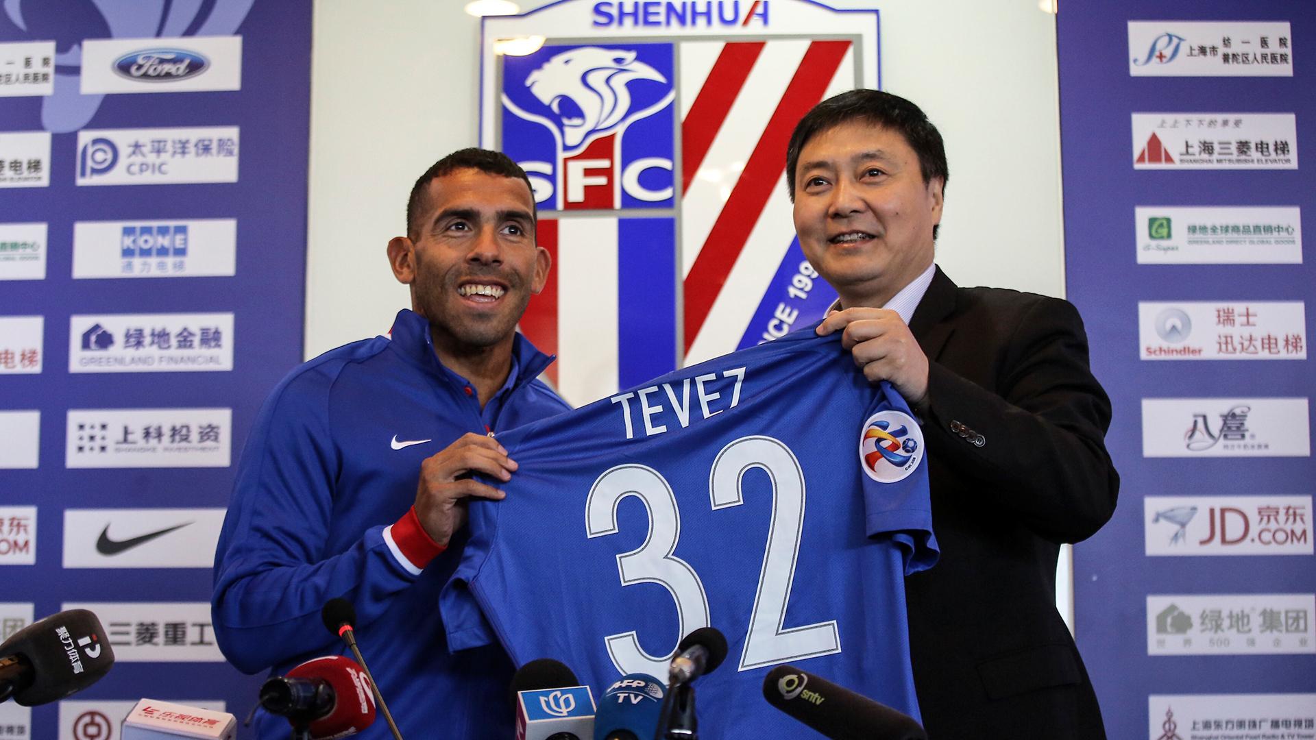 Carlos Tevez Shanghai Shenhua