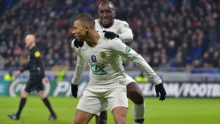 Kylian Mbappe Moussa Diaby Villefranche PSG Coupe de France 06022019