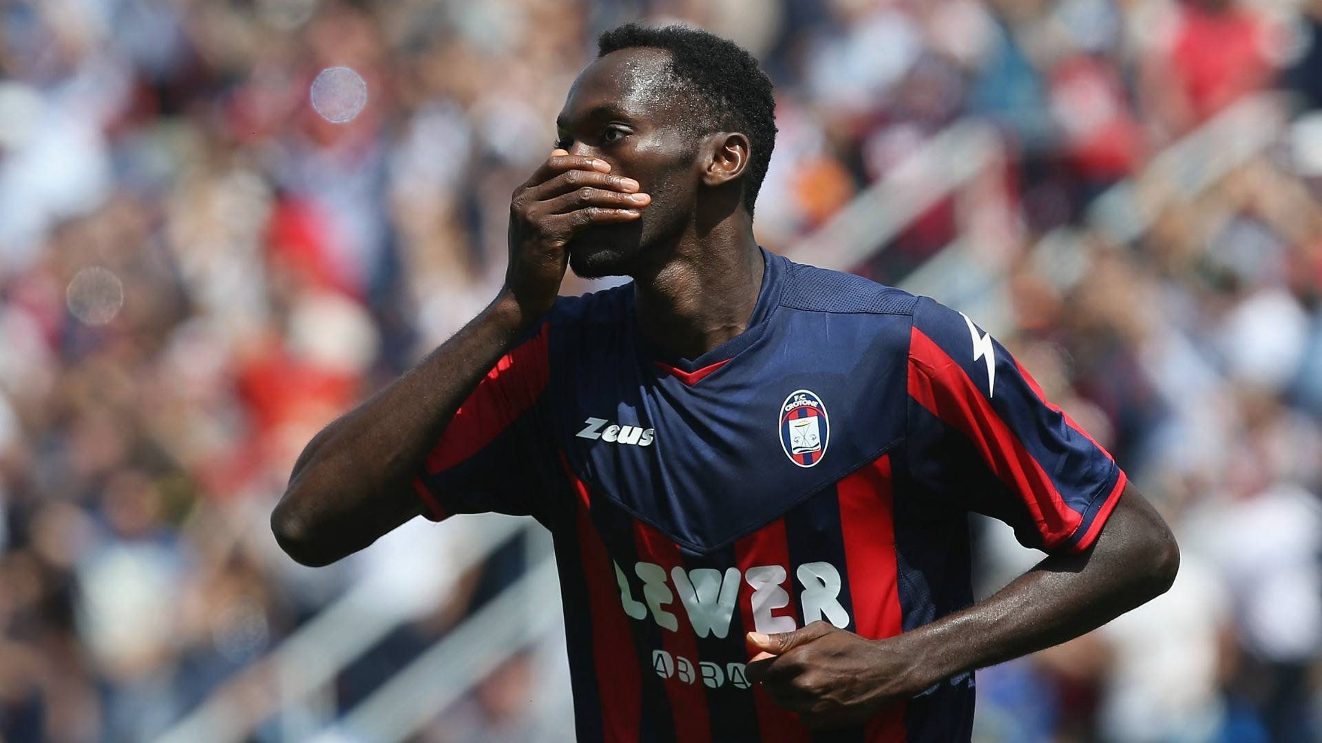 Simy boosts Crotone's Serie A promotion chances with hat-trick against Benevento