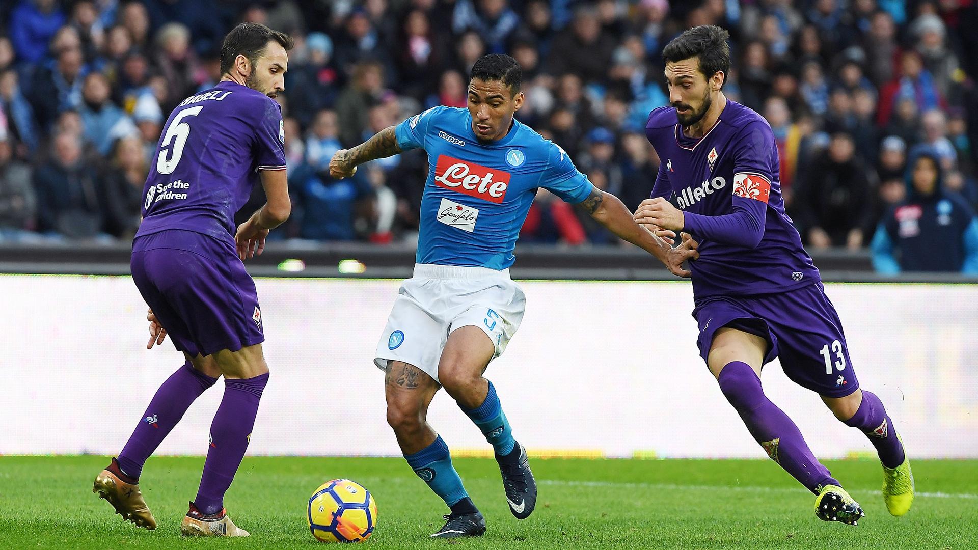 AC Florenz Vs SSC Neapel Im LIVE STREAM Bei DAZN Goal Com