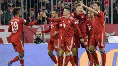 James Rodríguez Bayern Munich - Schalke Bundesliga 09022919