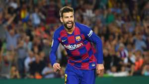 Gerard Pique Barcelona Valencia La Liga 2019