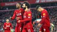 Gini Wijnaldum Mohamed Salah Roberto Firmino