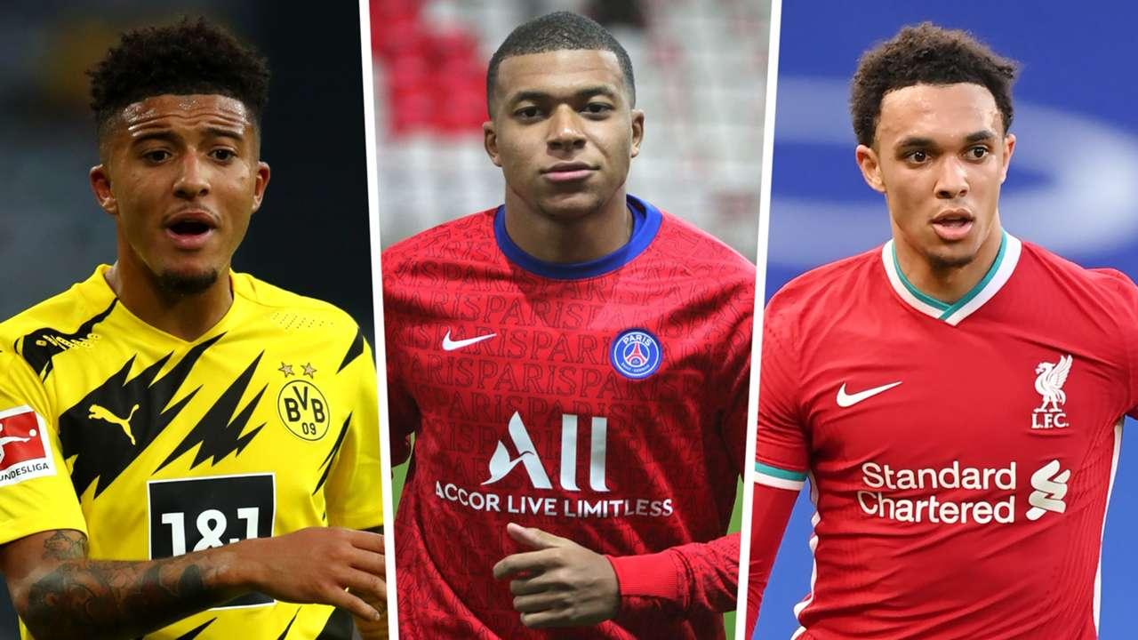 Sancho/Mbappe/Alexander-Arnold