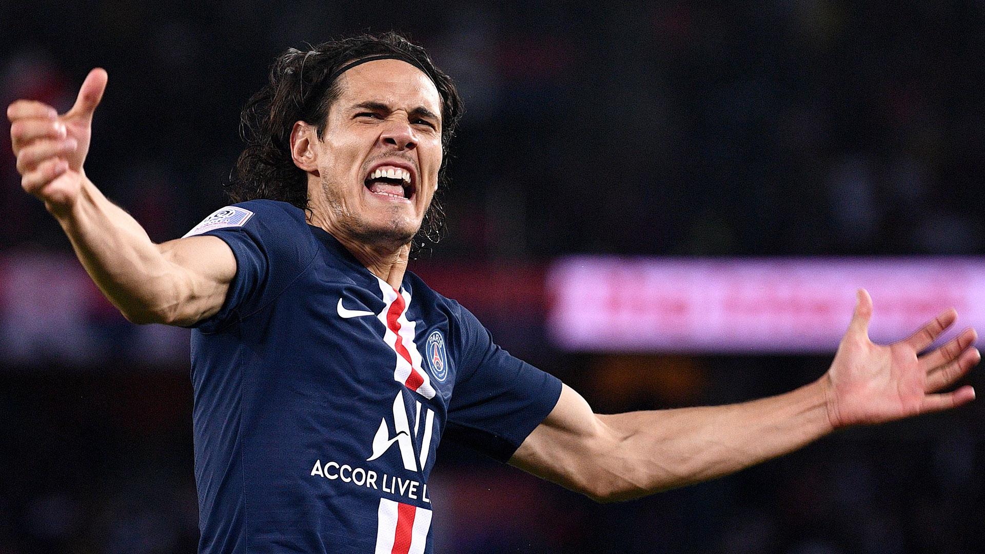 PSG-Lyon : Cavani buteur en Ligue 1, ce n'était plus arrivé depuis août