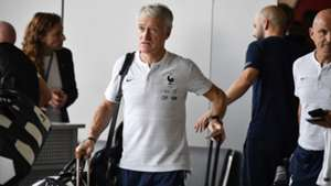Deschamps França embarque retorno Copa do Mundo 16 07 18