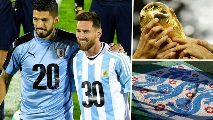 World Cup 2030 bid Uruguay Argentina England