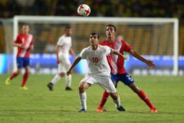 Mohammad Ghobeishavi Iran U17 Daniel Chacon Costa Rica U17