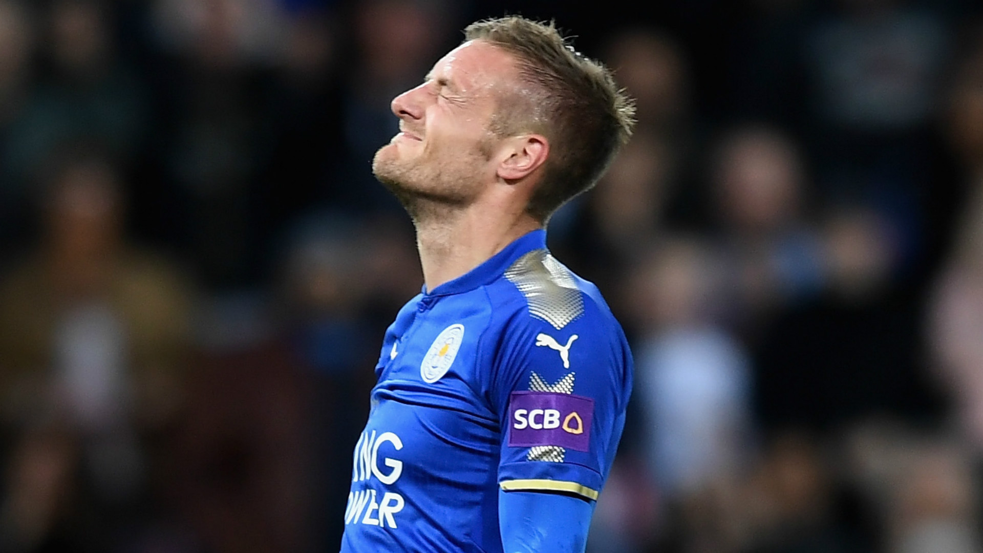 Jamie Vardy Leicester City 2017