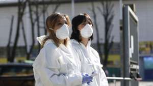 Coronavirus checks during the Serie A match between Parma Calcio and SPAL