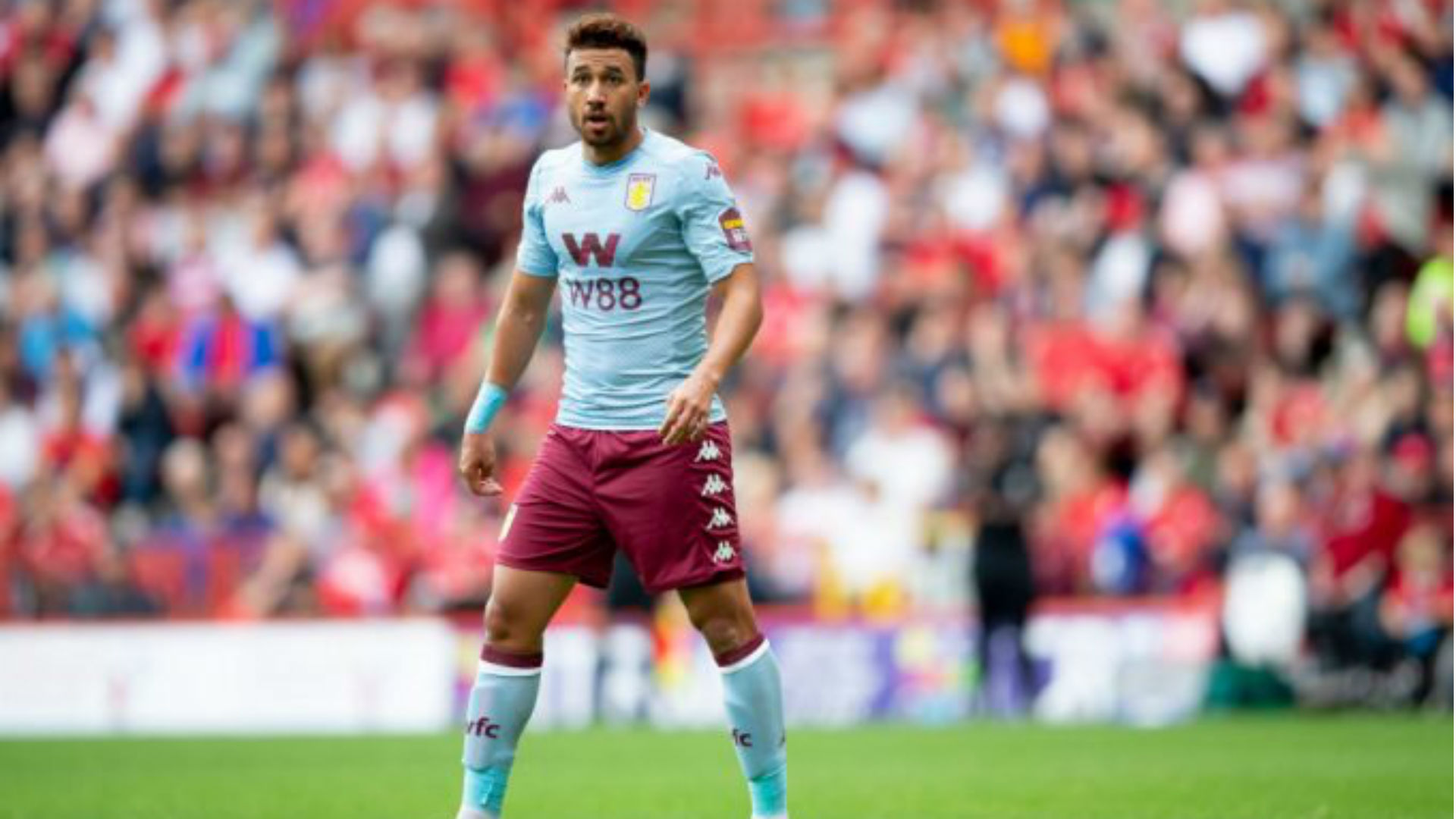 Aston Villa's Trezeguet anticipates Manchester City clash