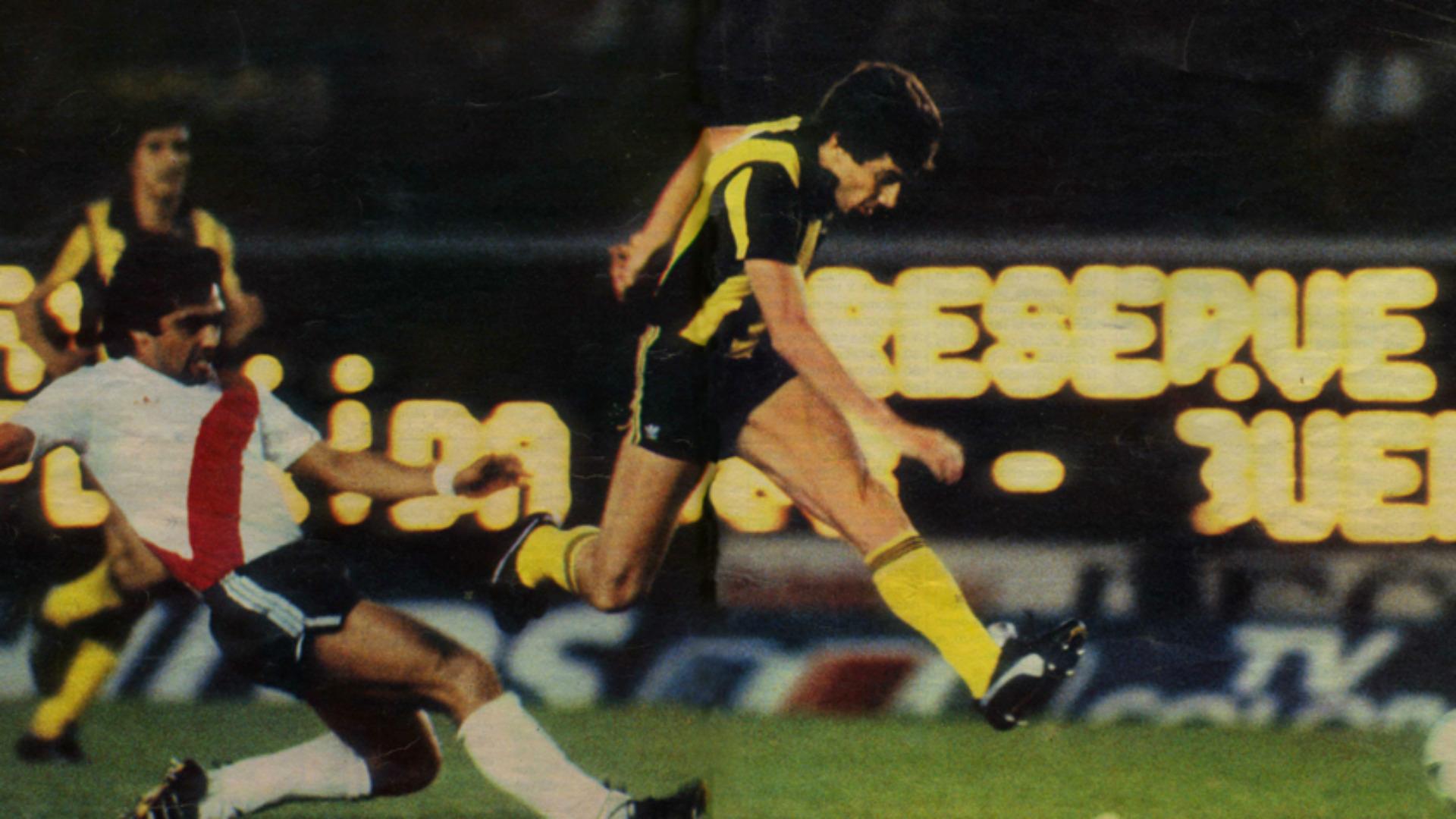 River Peñarol Copa Libertadores 1982