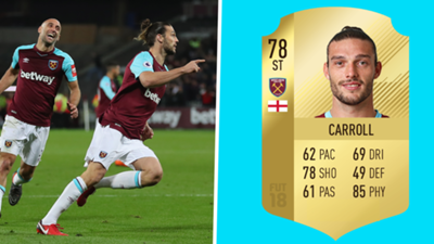 FIFA Cards - Carroll