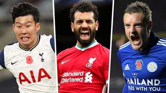 Premier League top scorers 2020-21: Salah, Son & Vardy ...