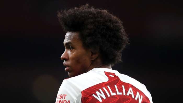 Willian Arsenal 2020-21