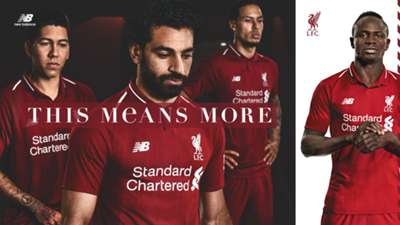 Liverpool 2018-19 kit poster