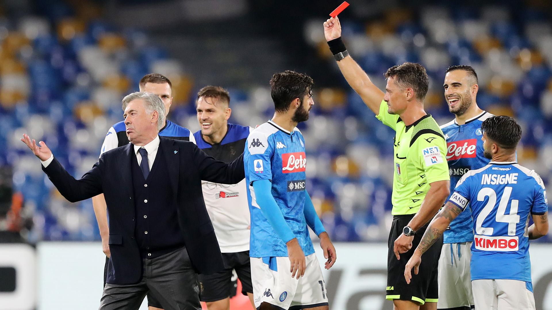 Carlo Ancelotti Napoli 2019-20