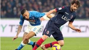 Allan Poli Napoli Bologna Serie A