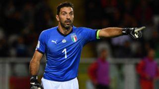 Gianluigi Buffon Italy European Qualifiers