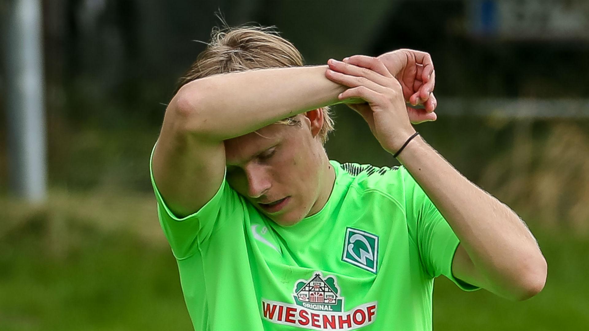 Aron Johannsson Werder bremen training