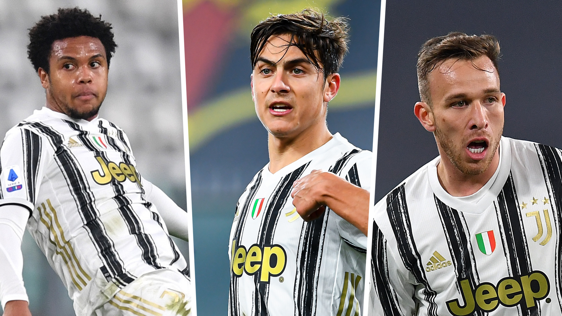 McKennie, Arthur and Dybala return to Juventus against Napoli after being suspended for breaking the blockade party