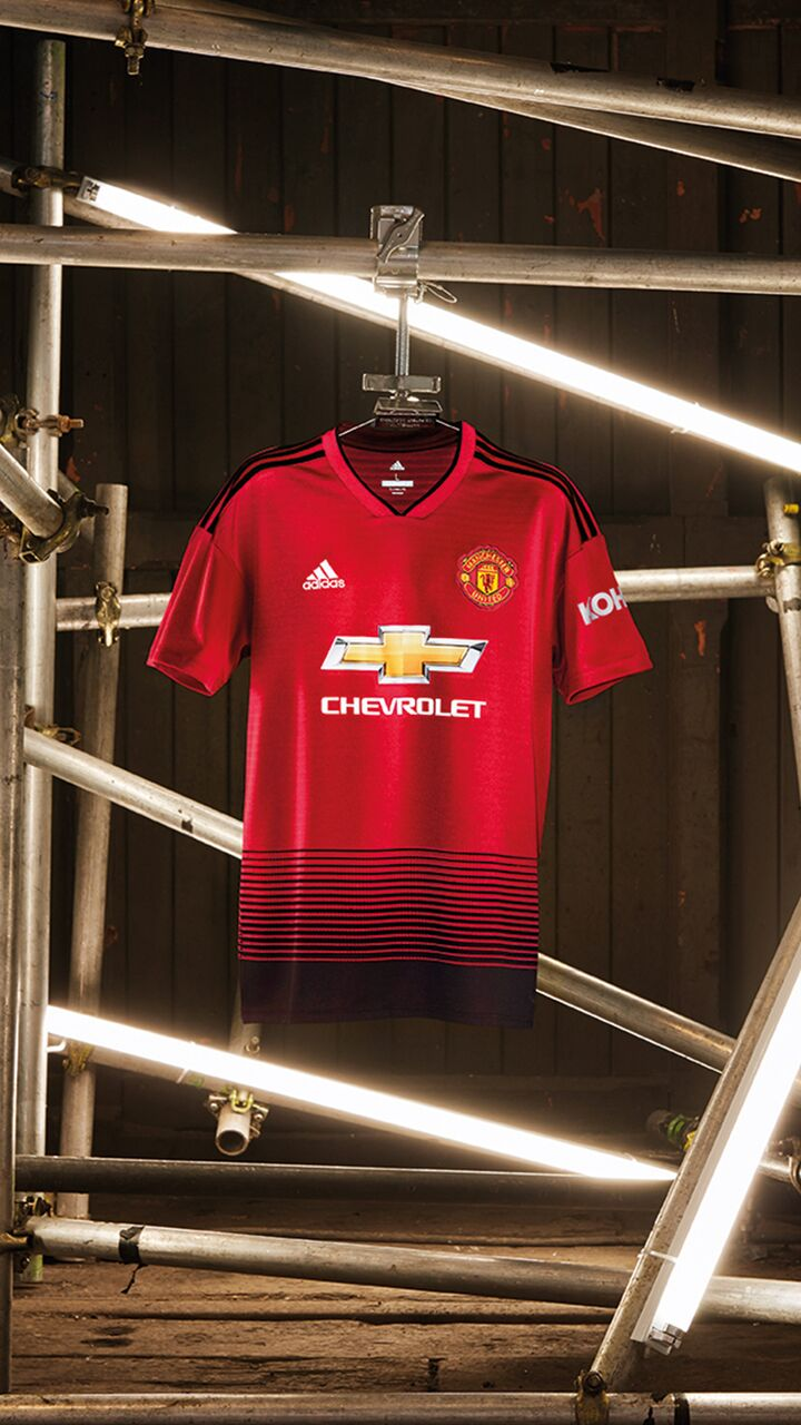 promo code f4cc9 c69ff adidas and Manchester United launch new home kit for season ...