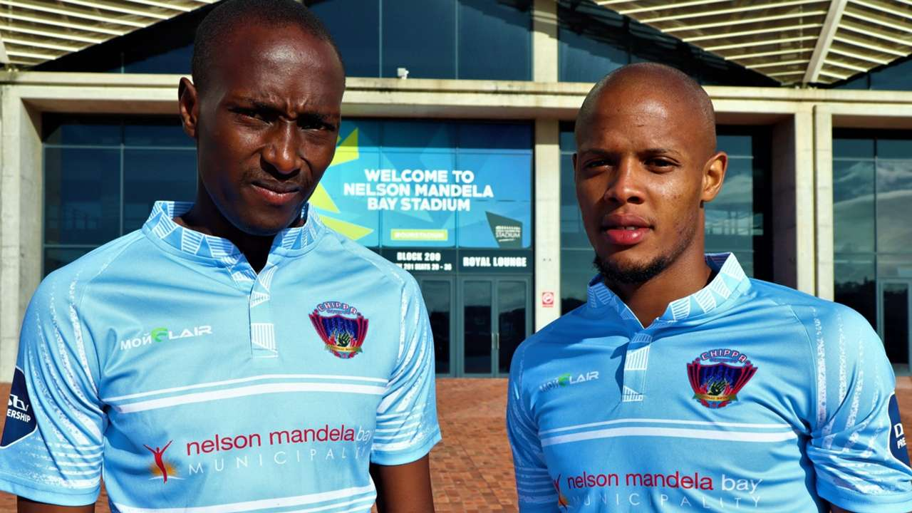 Nyiko Mobbie & Luvuyo Phewa, Chippa United, December 2020