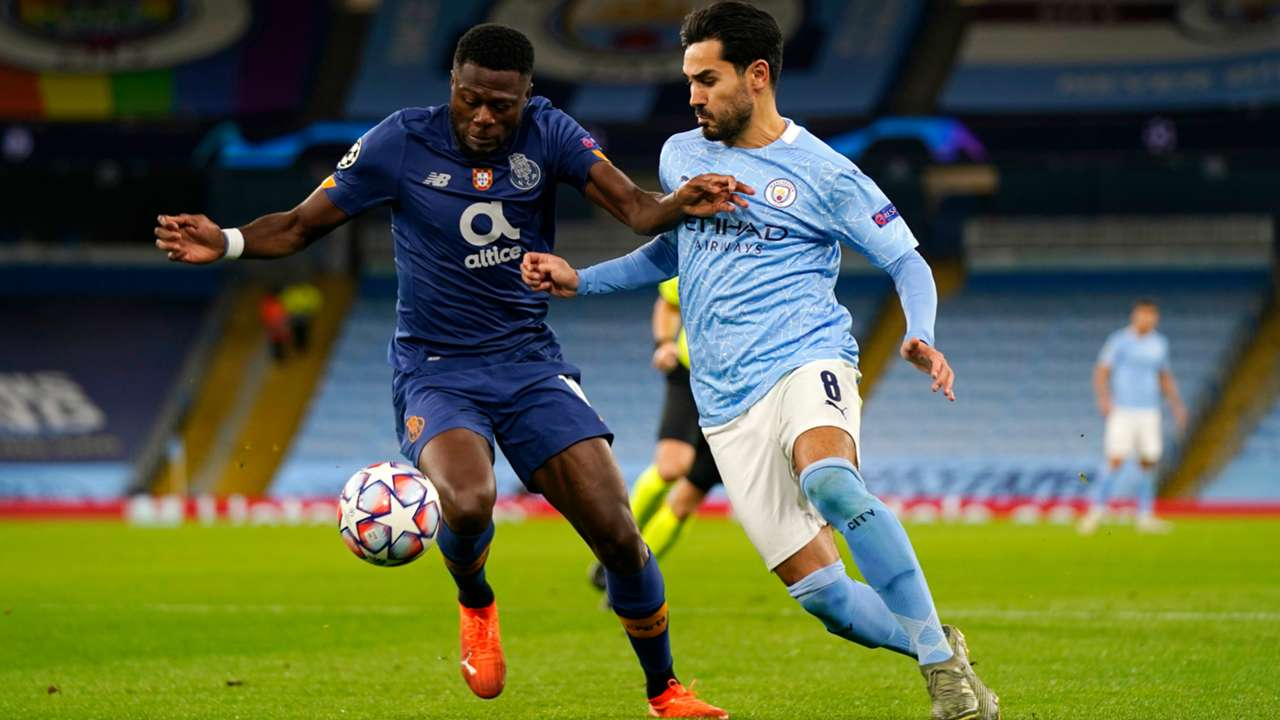 Ilkay Gundogan Manchester City Chancel Mbemba Porto 2020-21