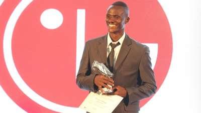 ENOSH OCHIENG WINS GOLDEN BOOT for Ulinzi Stars.