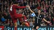Virgil van Dijk Liverpool v PSG