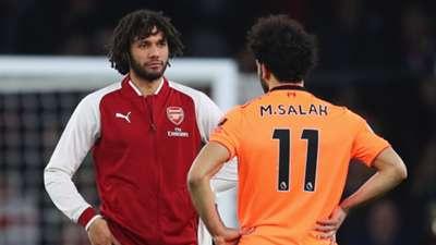 Salah and Elneny
