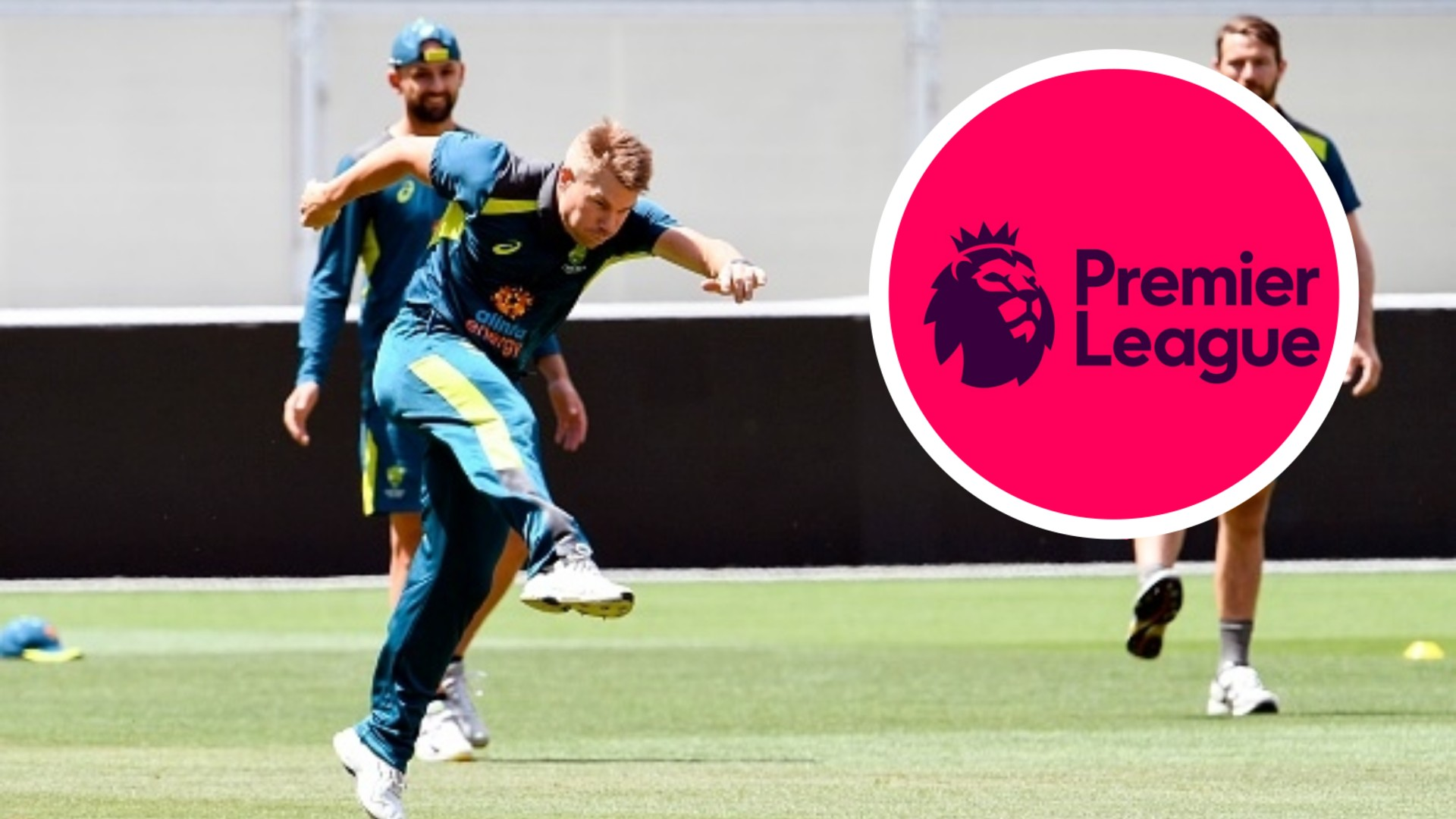 Which football club does Australia and Sunrisers Hyderabad batsman David Warner support?