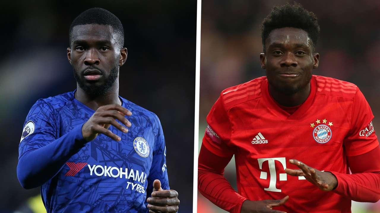 Fikayo Tomori Chelsea Alphonso Davies Bayern Munich 2019-20