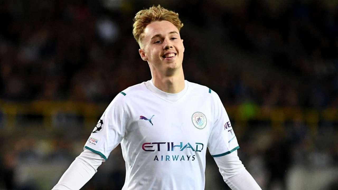 Cole Palmer Manchester City 2021-22