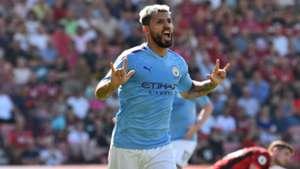 Sergio Aguero Bournemouth vs Manchester City 2019-20