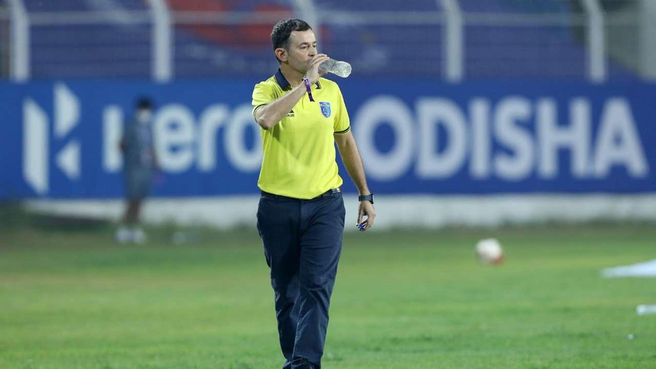 Kibu Vicuna, Odisha FC vs Kerala Blasters
