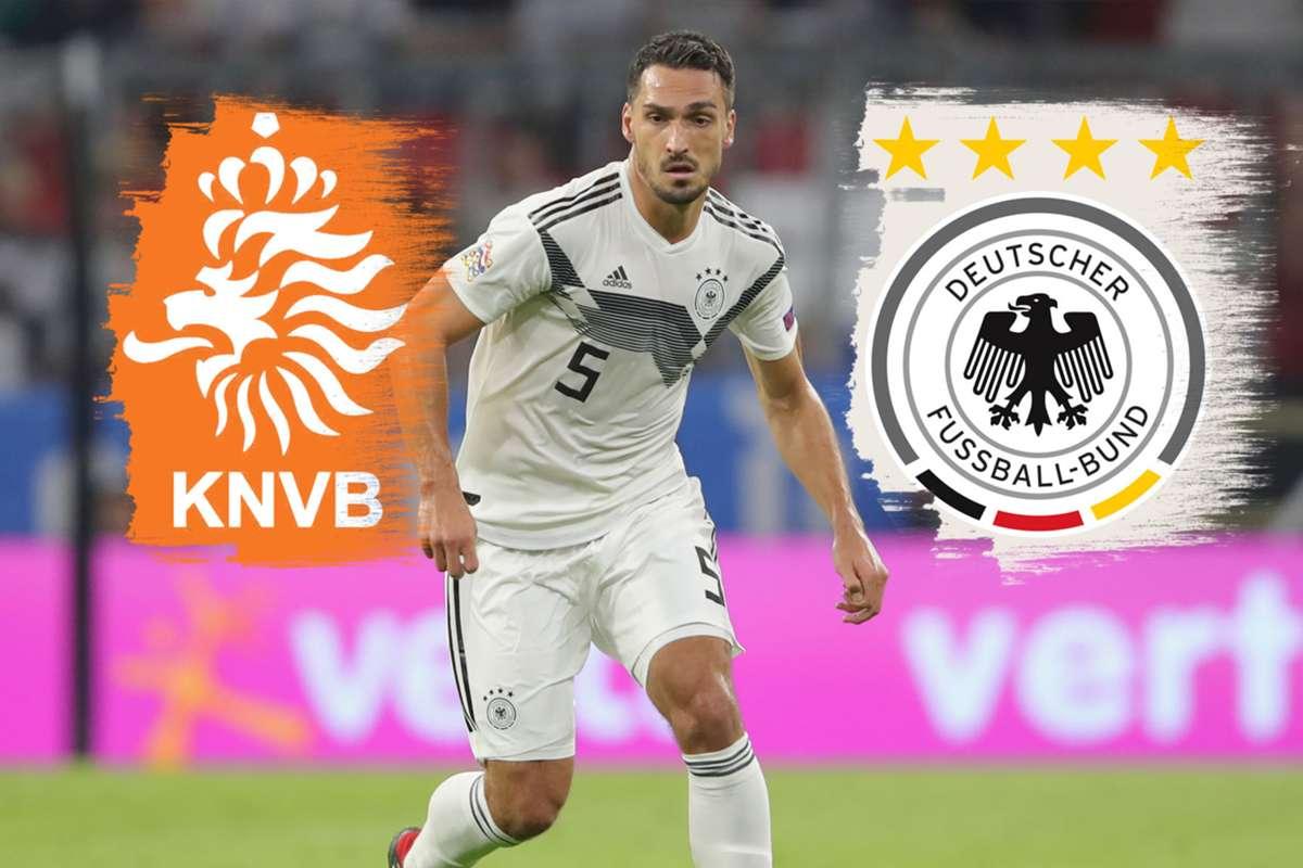 fußball deutschland gegen holland