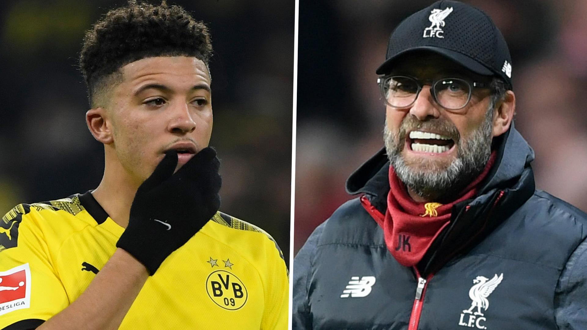 """Liverpool, Jürgen Klopp : """"Si Sancho signait à Liverpool, je serais le plus surpris"""""""