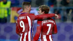 Fernando Torres Antoine Griezmann Atletico Madrid