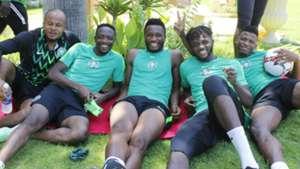 Shehu Abdullahi, Mikel Obi, Chidozie Awaziem, Ikechukwu Ezenwa