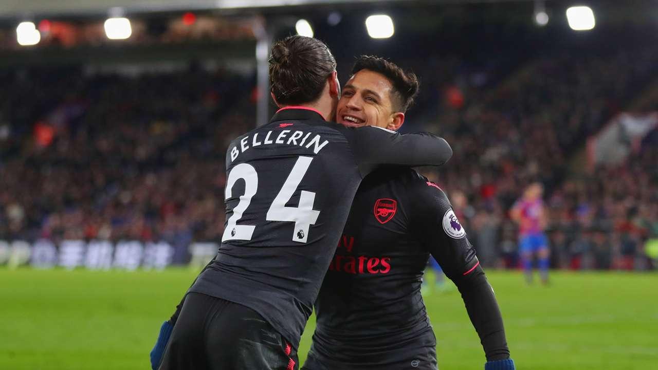 Hector Bellerin Alexis Sanchez Arsenal