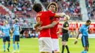 Calvin Stengs, Joris Overeem, AZ - FC Utrecht, play-off Europa League, 25052017