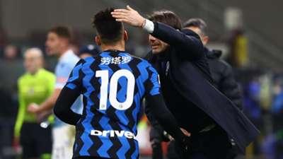 Lautaro Martinez Antonio Conte Inter