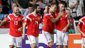 Russia become third team to seal Euro 2020 spot after thrashing Cyprus