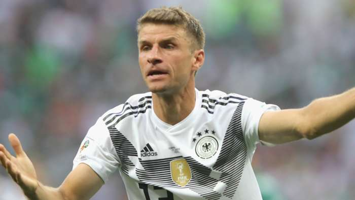 Thomas Muller Germany 2018