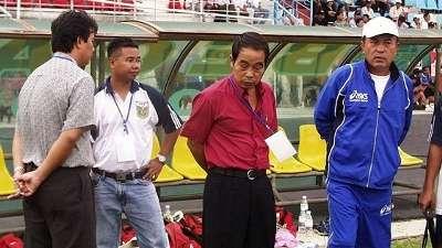 Coach Nam Dae-sik Binh Duong V.League 2003