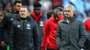 Rooney Mourinho Manchester United 27042017