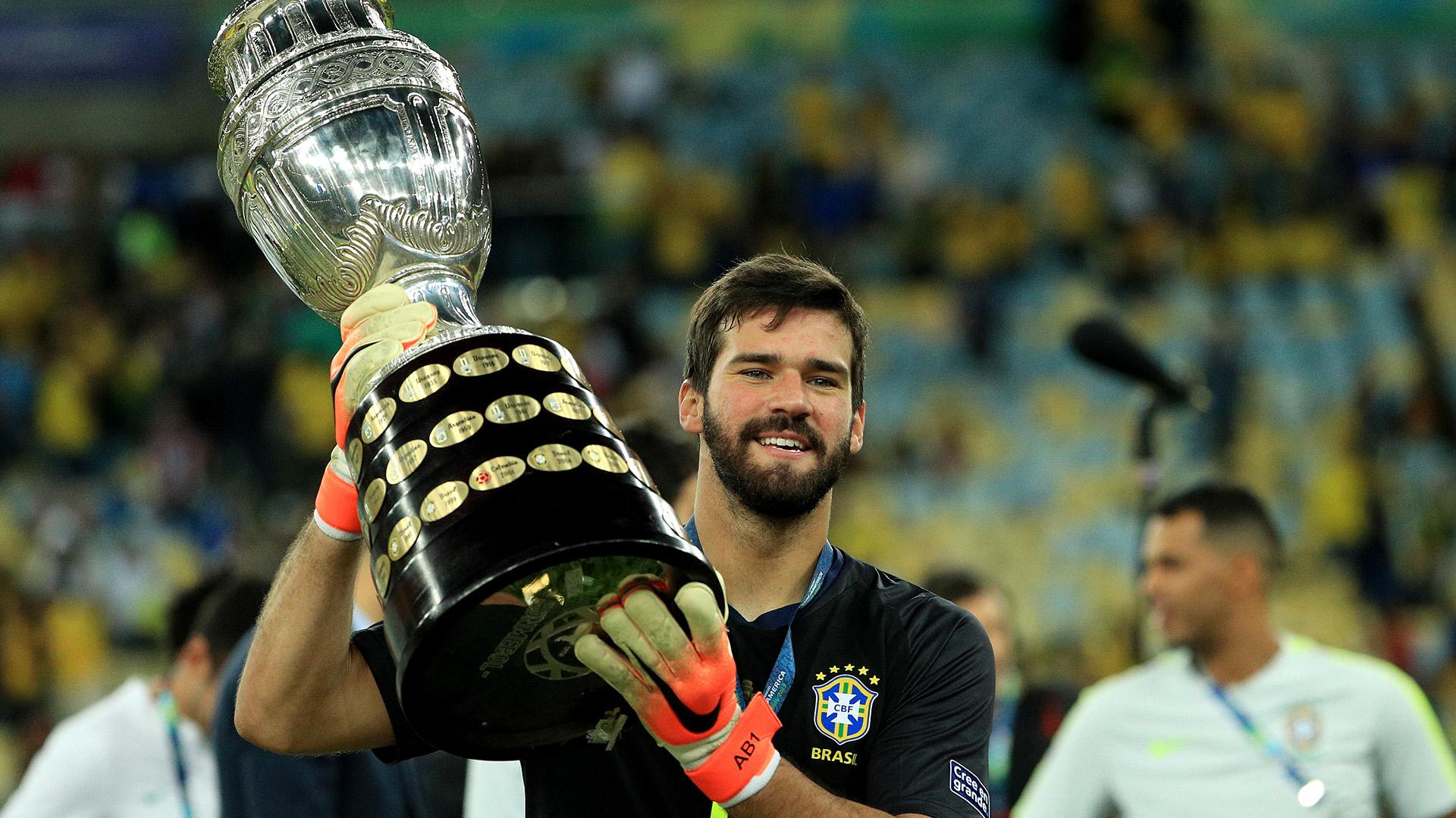 alisson brazil copa america