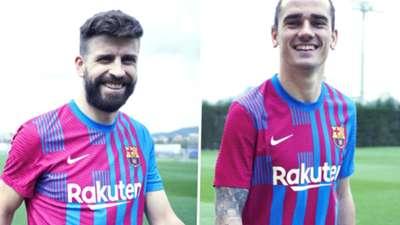 Barcelona 2021-22 home kit